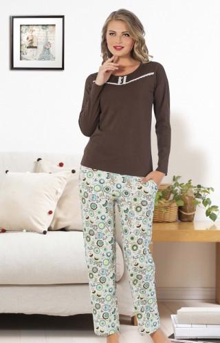hmd bayan pijama takım 80081
