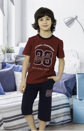 HMD YUPPİ ERKEK ÇOCUK KAPRİ TAKIMI 5394